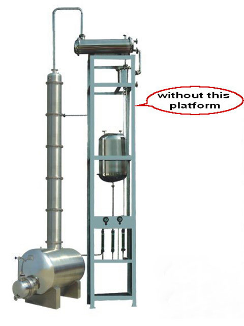 JH alcohol distillation equipment